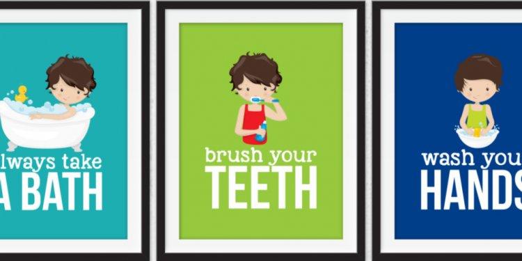 How to brush kids