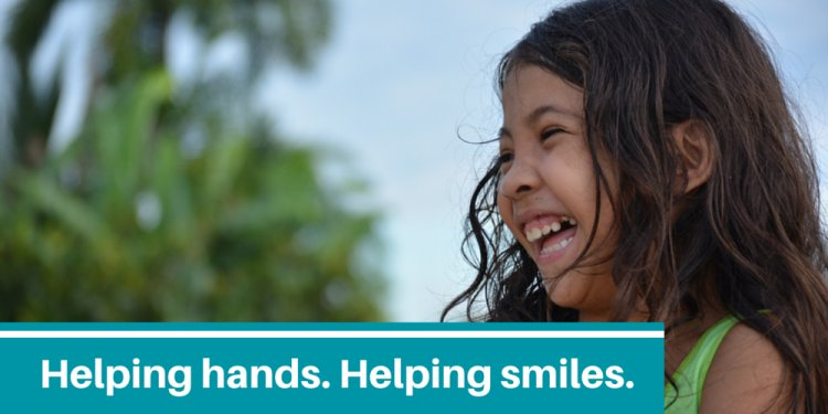 Helping hands helping smiles