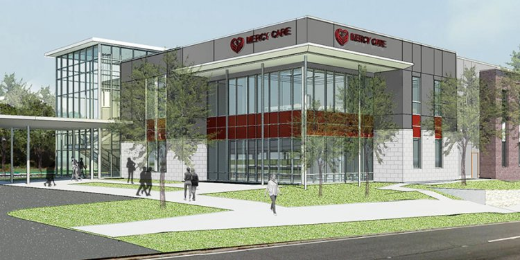 Rendering of new Mercy Care