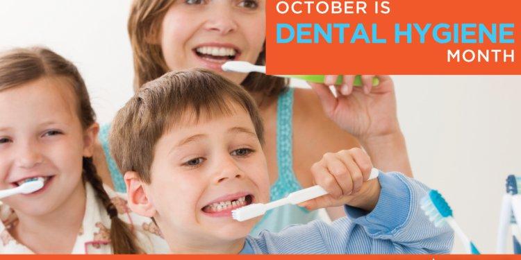 October is Dental Hygiene