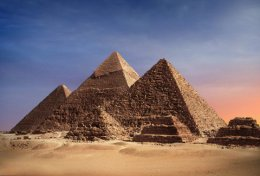 Pyramides of Gizeh - Cairo, Egypt