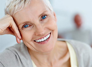 The teeth implants procedure has a high success rate